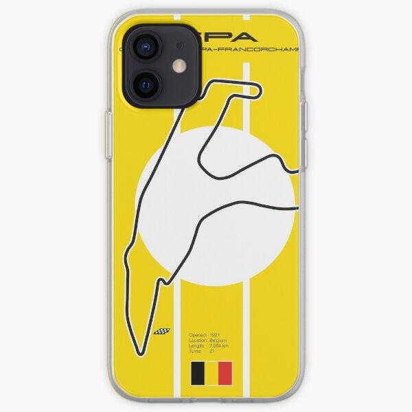 Spa Francorchamps Funda blanda para iPhone