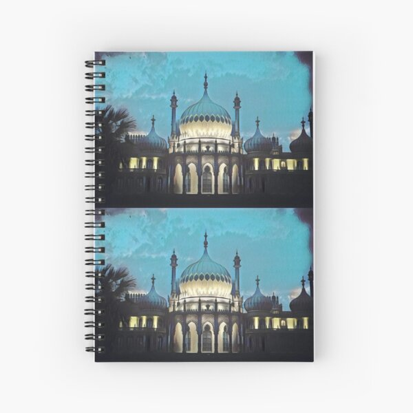 Brighton Pavilion Spiral Notebook