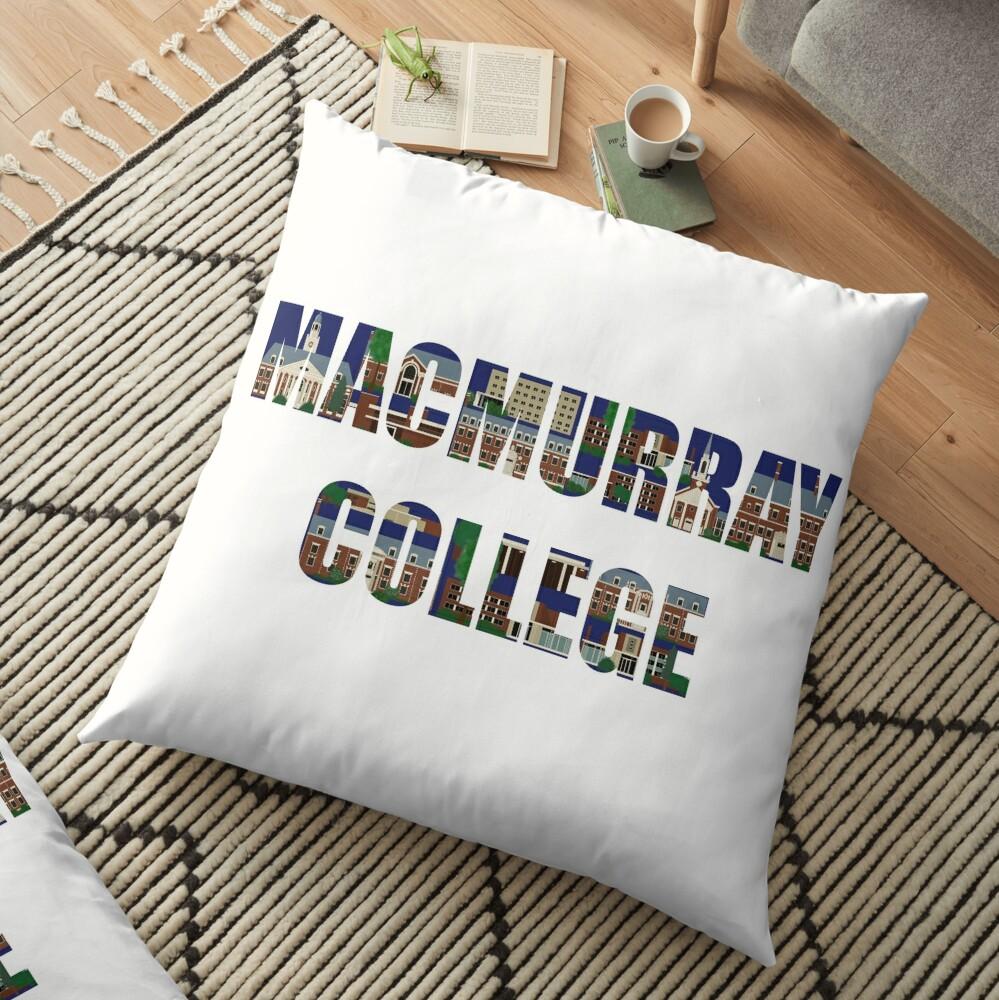 MacMurray College Floor Pillow