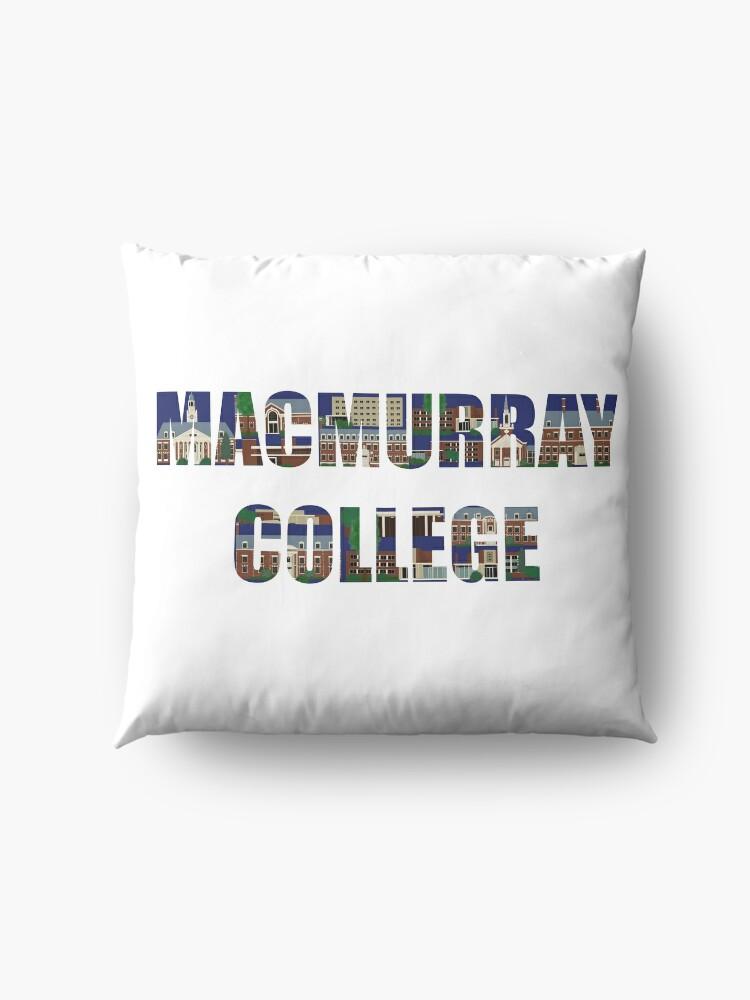 Alternate view of MacMurray College Floor Pillow