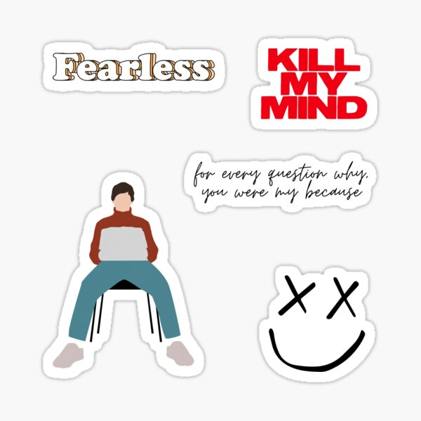 Set of stickers - Walls - Louis Sticker
