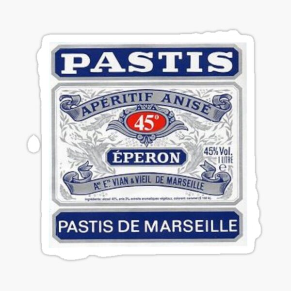 Pastis de Marseille Sticker