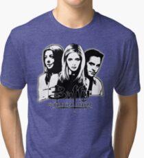 A Trio of Scoobies (Willow, Buffy & Xander) Tri-blend T-Shirt