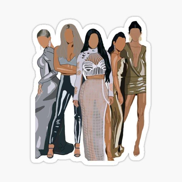 L'incroyable famille Kardashian Sticker