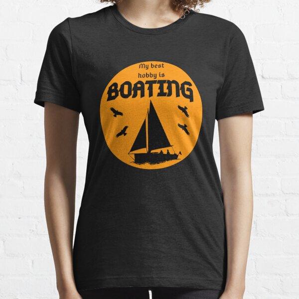 Mi mejor pasatiempo es la navegación. Camiseta esencial