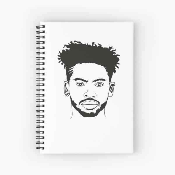 Afro Natural Hair, Natural Curly Hair, Real Natural Hair Spiral Notebook