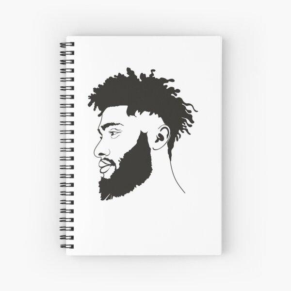 Curly Hair, Natural Curly Hair, Curly Hair Natural Spiral Notebook