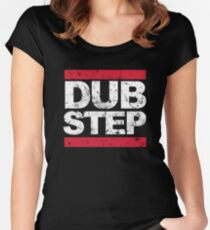 Dubstep Distress Women's Fitted Scoop T-Shirt