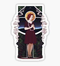 Dana Scully Art Nouveau Sticker