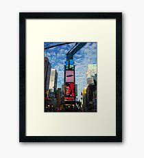 Broadway bound Framed Print
