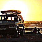 Down on the beach................ by Karlientjie