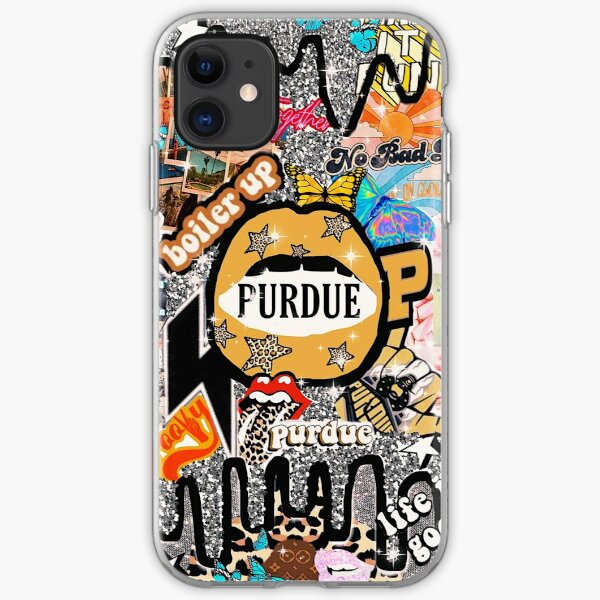 COLLEGE WALLPAPER iPhone Soft Case