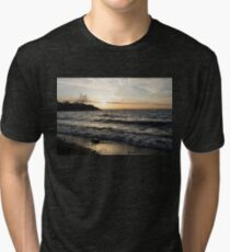 Lakeside - Waves, Sand and Sunshine Tri-blend T-Shirt