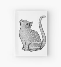 books and cats and books and cats Hardcover Journal