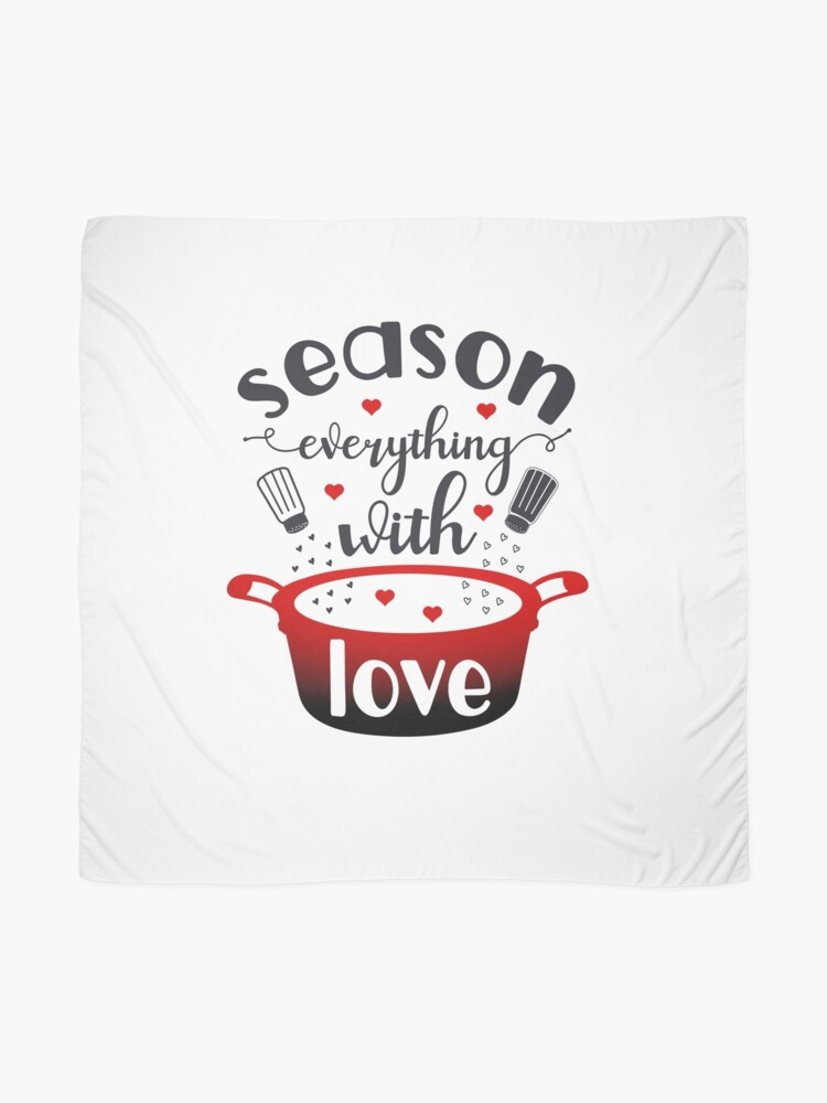 Alternate view of Season Everything With Love Scarf