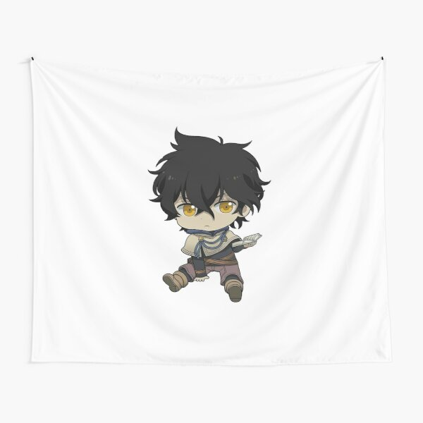 Yuno Chibi Tapestry By Francesco2m Redbubble ♥️if you love animememes then follow me 📣 30% of the contents owned by me other 70% are stolen 🏆target 2k followers. yuno chibi tapestry by francesco2m redbubble