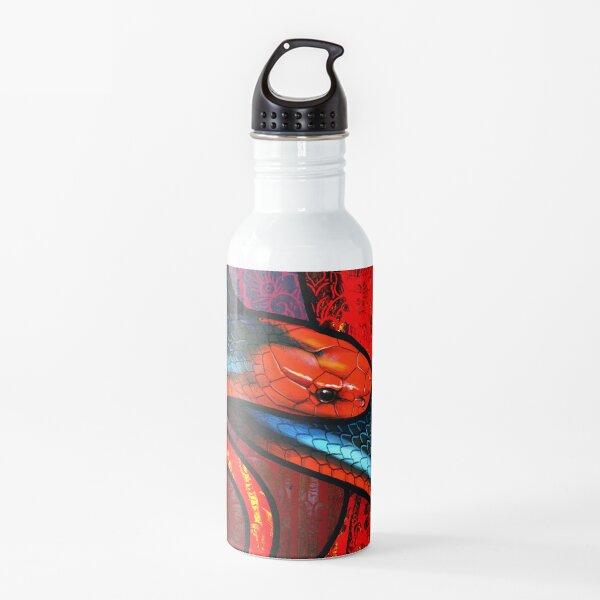 Blue Coral Snake Water Bottle