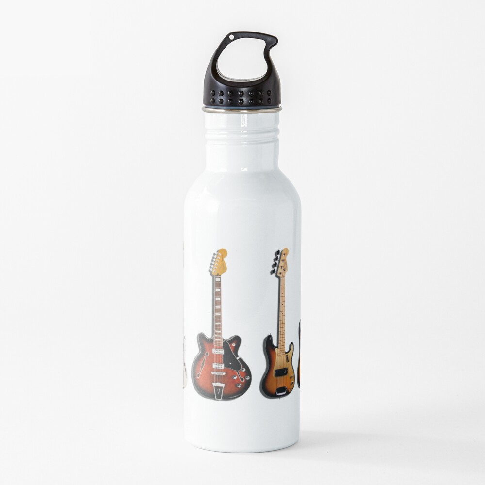 The Classic Guitar Collection Water Bottle