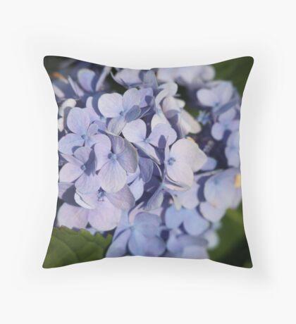 Hydrangeas Throw Pillow