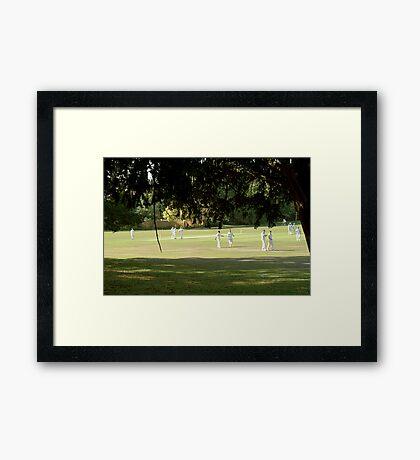 An English Summer Framed Print