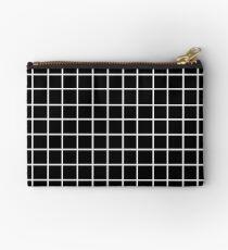 Bolso de mano Black Tumblr Grid Pattern