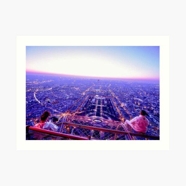 AuDD PNL Tour Eiffel Impression artistique
