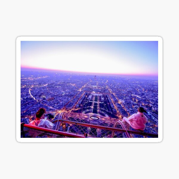 AuDD PNL Tour Eiffel Sticker