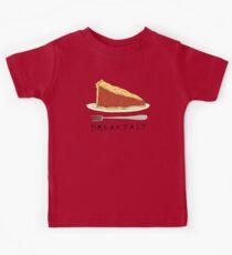 Pie for Breakfast Kids Tee