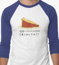 Pie for Breakfast Men's Baseball ¾ T-Shirt