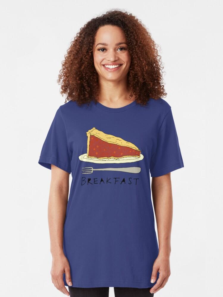 Alternative Ansicht von Kuchen zum Frühstück Slim Fit T-Shirt