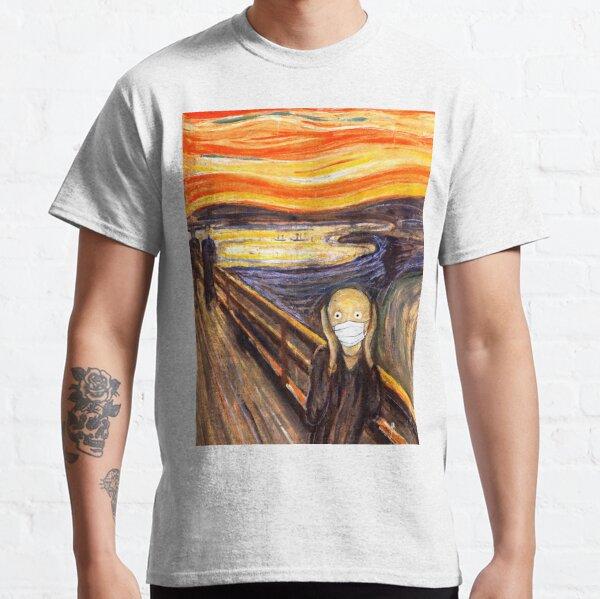 The Scream of Coronavirus Classic T-Shirt