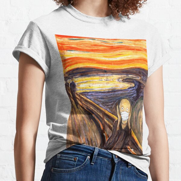The Scream of Coronavirus Classic T-Shirt