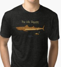 The Life Aquatic - Jaguar Shark Tri-blend T-Shirt