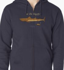 The Life Aquatic - Jaguar Shark Zipped Hoodie