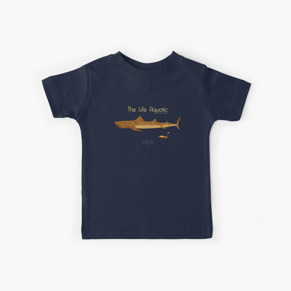 The Life Aquatic - Jaguar Shark Kids T-Shirt