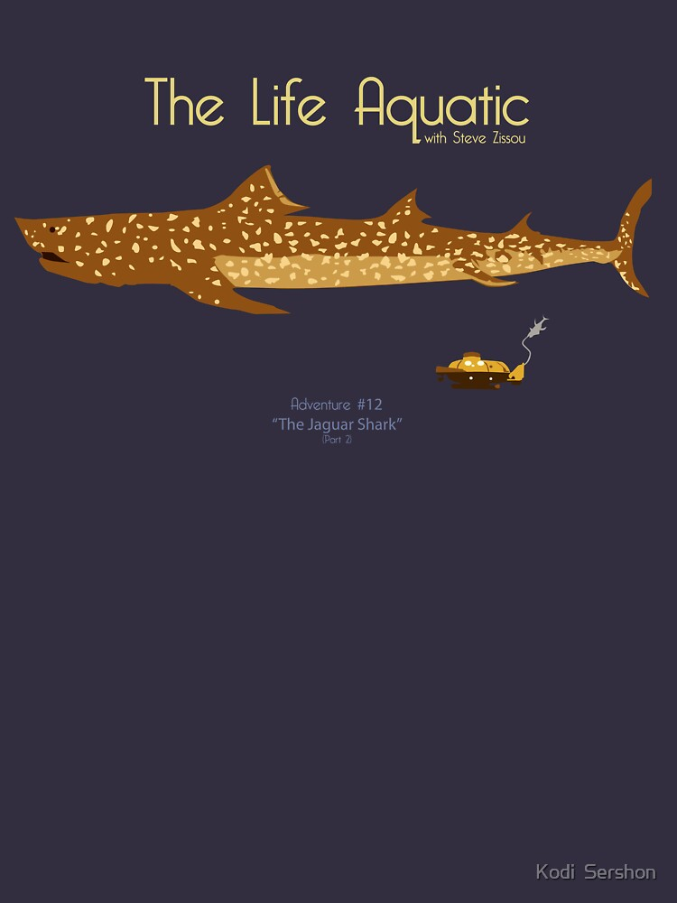 TShirtGifter presents: The Life Aquatic - Jaguar Shark | Unisex T-Shirt