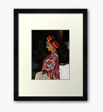 Happy Beauty - Belleza Feliz Framed Print