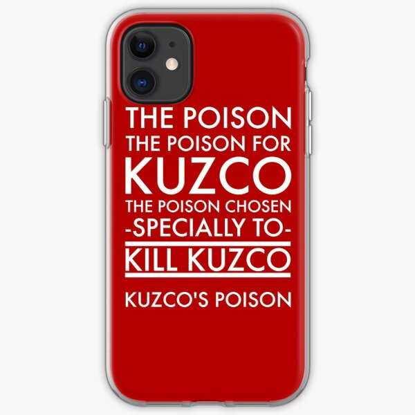 The Poison. in white iPhone Soft Case