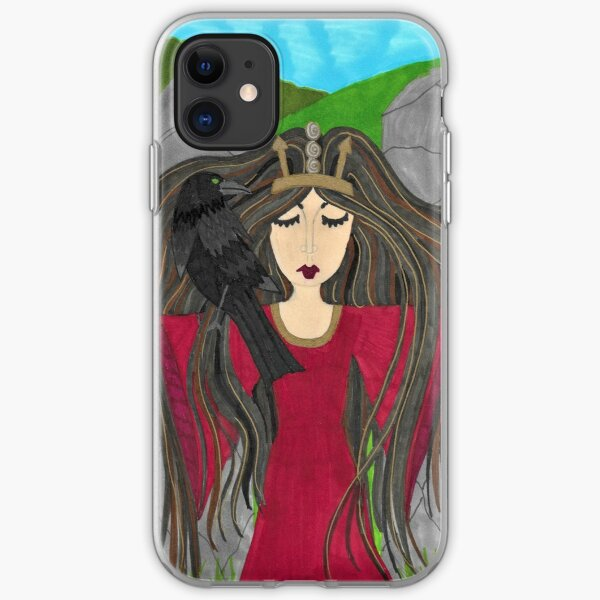 Macha - Celtic Goddess of Creation and Death iPhone Soft Case