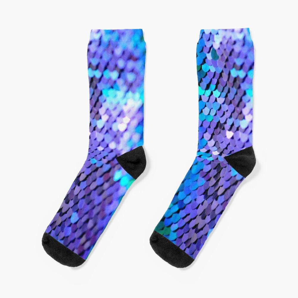 Memaid scales in sequin Socks