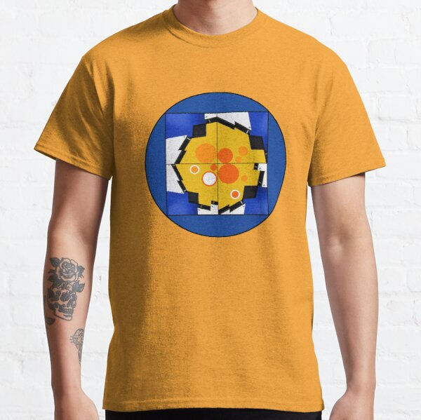 Dessin illustration abstrait soleil Classic T-Shirt