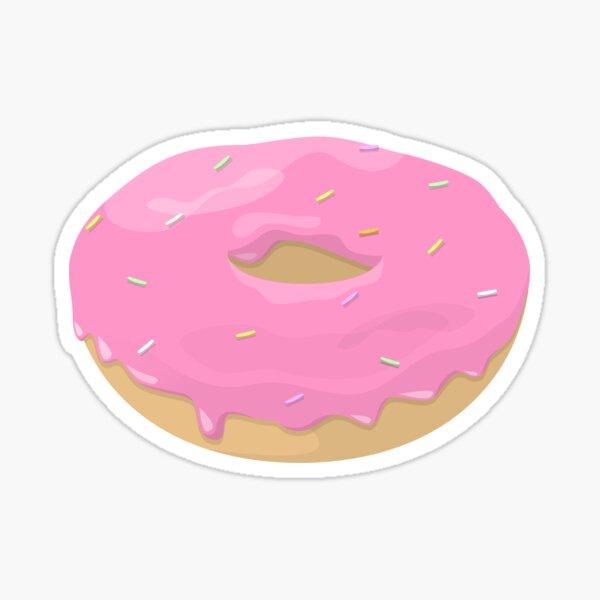 Pink Doughnut Sticker