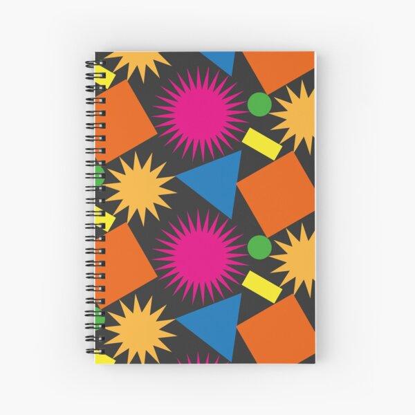 Geometric Chaos Spiral Notebook