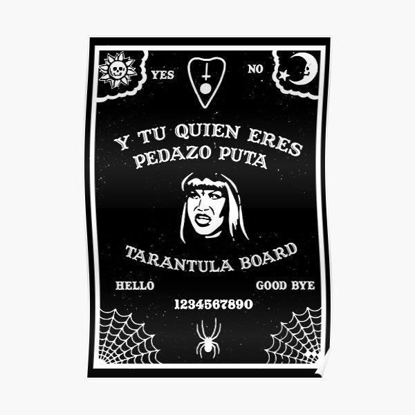 Tarantula Ouija Board Poster