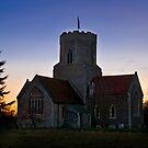 Pakenham church at sunset by DaleReynolds