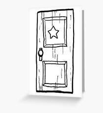 Scott Pilgrim vs The World // Subspace Door Greeting Card