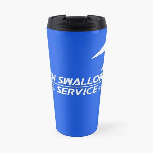 Unladen Swallow Parcel Service Travel Mug