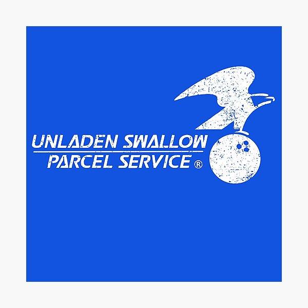 Unladen Swallow Parcel Service Photographic Print