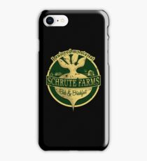 I enjoyed my stay at Schrute Farms (Green) iPhone Case/Skin
