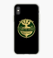 I enjoyed my stay at Schrute Farms (Green) iPhone Case